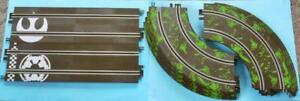 SCALEXTRIC STAR WARS TRACK STRAIGHTS AND CURVES from START SET C1288 ENDOR