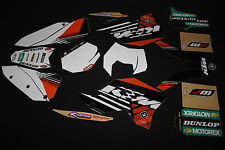 KTM  SX SXF EXC FLU FACTORY MX GRAPHICS KIT DECALS KIT STICKER KIT STICKERS