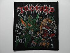 TANKARD  WAR OF THE DOG   WOVEN  PATCH