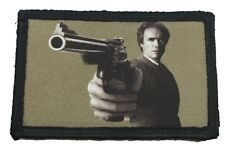 Dirty Harry .44 Magnum Morale Patch Tactical ARMY Hook Military USA Eastwood