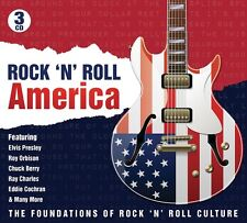 Rock 'N ROLL AMERICA The Foundations of rock' n' roll culture 3 CD NUOVO