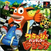 USED PS1 PS PlayStation 1 Racing Team ??Crash