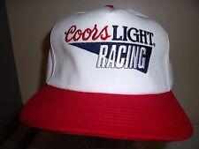 COORS LIGHT RACING SNAPBACK Baseball Cap Trucker Hat Retro Rare Unique Lid O
