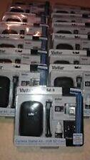 New VIVITAR Camera Starter Kit 6 piece:camera case, 2 GB SD Card, mini tripod, +