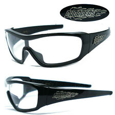 Choppers Mens Motorcycle Sunglasses - Clear C40