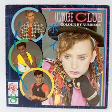 Culture Club - Color Por Números - Disco De Vinilo Álbum LP
