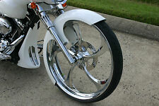 "Harley Davidson Street Glide 26"" Inch Chrome 3D Wheel ""Merlin"" Harley Wheels"