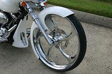 "Harley Davidson Road Glide 26"" Inch Chrome 3D Wheel ""Merlin"" Harley Wheels"