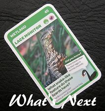 Woolworths <<AUSSIE ANIMALS>> Card 45/108 WETLAND Lace Monitor (Free Post)