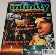 BABYLON 5 : Infinity Magazine No. 2, Sept 1996, signed by Claudia Christian