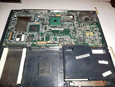 Used mainboard w/celeron 1.5 cpu, no ram in lower case from satellite 1115-s103