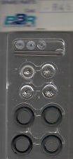 roues à rayons BBR 1/43e pour voitures années 45-55 référence R46