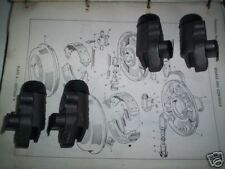 (x4) Ford Anglia 105e Prefect 100e Popular FRONT BRAKE WHEEL CYLINDERS SET 1958-