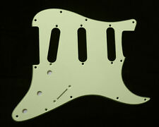 (B08) Replacment Guitar Pickguard For Strat Style ,3ply Vintage Mint Green