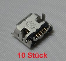 10x Micro USB Buchse 5Pin Ladebuchse Connector Tablet HTC BlackBerry Huawei 05