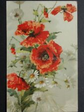 Poppies Postcard c1907 by Max Ettlinger & Co No.4728
