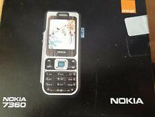 Nokia 7360 -  box ..user guide....NO PHONE
