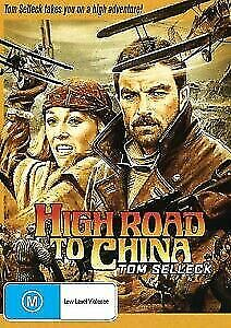 High Road to China DVD Tom Selleck New and Sealed Australia