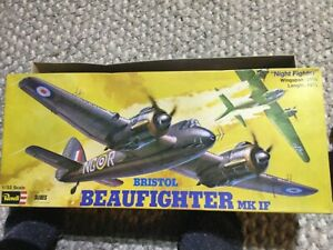 """revell bristol beaufighter MK IF """"Night Fighter"""" 1/32 scale"""