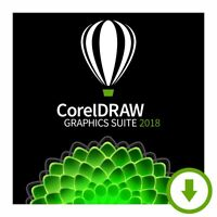 CorelDraw Graphics Suite 2018 -For 2PC -Download Version- English Only