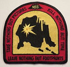 New National Speleological Society Cave Conservation Patch Spelunking Caving