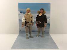 "custom star wars hoth scene backdrop ikea detolf display 12"" sideshow hot toys"