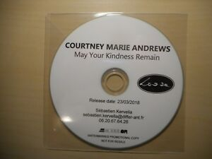 COURTNEY MARIE ANDREWS : MAY YOUR KINDNESS REMAIN *2018* [ CD SINGLE ]