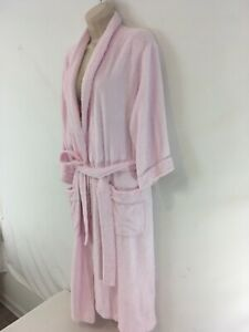 Texere Womens S/M Pink Viscose Cotton Spa Bath Robe