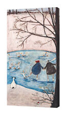 Sam Toft - Winter - 50 x 100cm Canvas Print Wall Art WDC93137