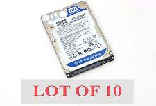 """Lot 10 WD Western Digital Scorpio Blue WD3200BPVT 320GB 5400 RPM 2.5"""" Hard Drive"""