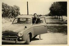 PHOTO ANCIENNE - VINTAGE SNAPSHOT - VOITURE PEUGEOT 403 PICK UP AUTOMOBILE - CAR