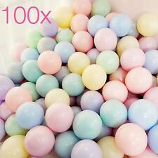 100x Luftballons pastell Ø 35 cm gemischte Pastellfarben Mix Ballon bunt