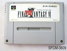 Final Fantasy 6 Super Famicom Japanese Import VI SFC SNES US Seller B-