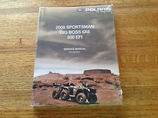 OEM Polaris 2009 Sportsman Big Boss 6x6 800 EFI Service Repair Manual 9922030