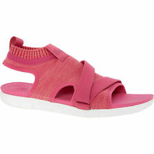 Fitflop Uberknit Back Strap Pink Anatomicush Comfort Vegan Stretch Sandal UK 8