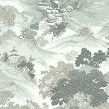 ARCHIVES ORIENTAL LANDSCAPE WALLPAPER EAU DE NIL - CROWN M1191 CHINA