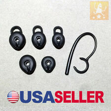Replacement Set For Blueant Endure T2 Headset Ear Hook Ear Gel Ear Bud Loop