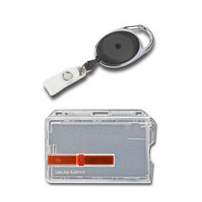 AUSWEISSET: Kartenhalter + Jojo für Mitarbeiterausweise, Dienstausweise, etc.