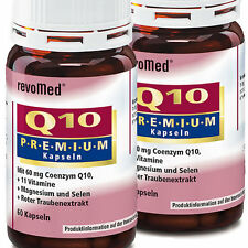 Q10 Premium 2 x 60 Vitalstoffkapseln revoMed Kapseln 60 mg Coenzym Q10 OPC