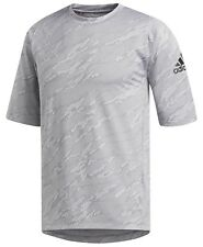 adidas Jacquard Camo Men's Training Top Grey M Msrp $ 40.00 DH6764