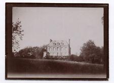 PHOTO ANCIENNE France Architecture Maison Vers 1900 Demeure Jardin Château