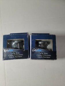 2 Gatco Latitude II Single Robe Hook in matte black Model: 4245 X2!!!!