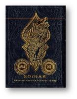 Kodiak Jugando a las Cartas By Jody Eklund Póquer Juego de Cartas Cardistry