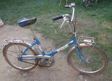 Vélo vintage NS PEUGEOT PLIANT années 70 révisé, cables et freins neufs.