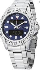 So&co New York Men's Quartz Analog/digital Bracelet Watch 5017.2