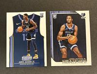 2018-19 Jaren Jackson Jr Rookie Card NBA Hoops #278 and Threads #146