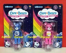 Medicom 2017 Be@rbrick Care Bears 100% Grumpy & Cheer Bear Bearbrick Set 2pcs