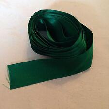5 M di 30 mm Biadesivo Nastro Di Raso, verde smeraldo #534