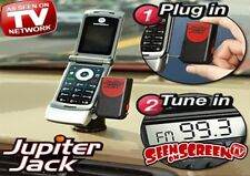 Jupiter Jack Universal Mobile Phone Hands Free Device Car Stereo Speakerphone