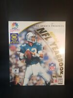 Official NFL Yearbook '95/'96 Sealed New In Box NBC Sports NFL Dan Marino Cover
